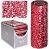 Koopman International Decor Fabric Sequins Red 14x250cm