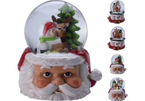 Koopman International Snow Globe Christmas Figurine Assorted