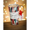 Cypress Home Ceramic Travel Cup With Ornament Best Daughter Ever