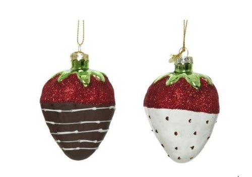 Kaemingk Strawberry Ornament