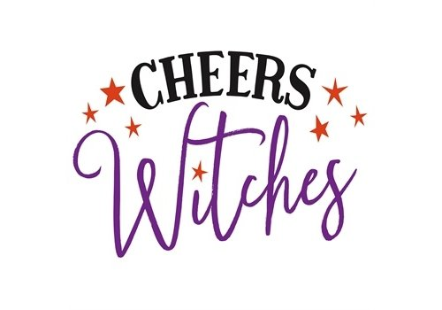 Cypress Home Paper Cocktail Napkin Cheers Witches