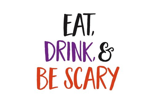 Cypress Home Paper Cocktail Napkin Eat, Drink, and Be Scary