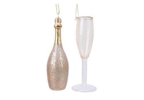 Kaemingk Champagne Ornament