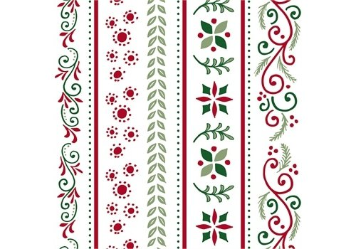 Cypress Home Paper Luncheon Napkin Christmas Tradition