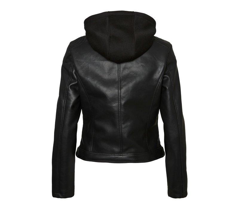 Cortney Hoodie Coated Jacket