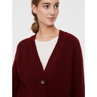 Daisy LS Button Rib Cardigan