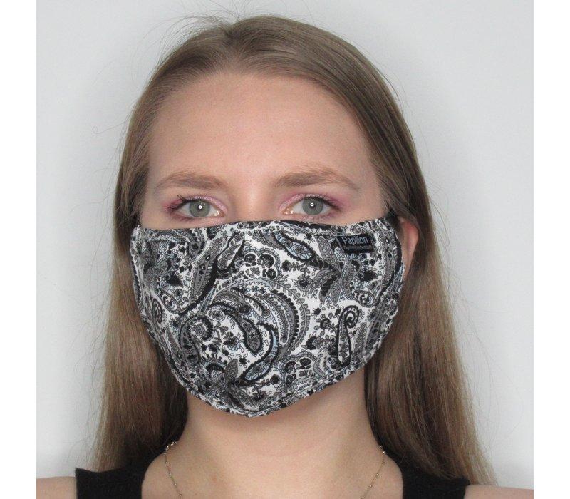 Paisley Adjustable Cotton Face Mask