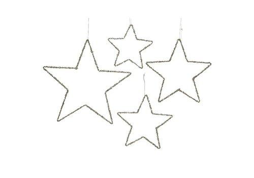 Kaemingk Glitter Iron Star