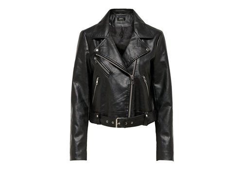 ONLY Valerie Faux Leather Jacket