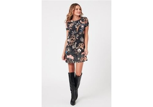 Mink Pink Sumatra Nights Tee Dress