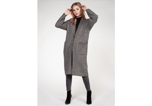 Dex Long Sleeve Sweater Cardigan With Pocket