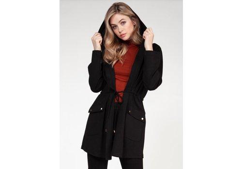 Dex Hooded Drawstring Jacket