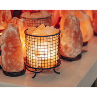 Himalayan Salt Lamp Cylinder Basket