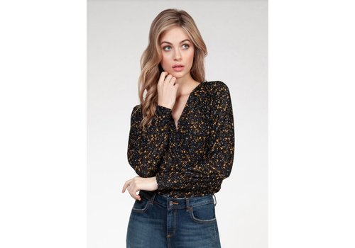 Dex Long Sleeve Wrap Top