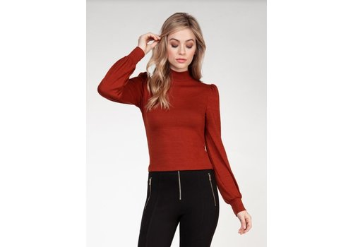 Dex Long Sleeve Mock Neck