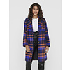 ONLY Taylor Check Wool Coat