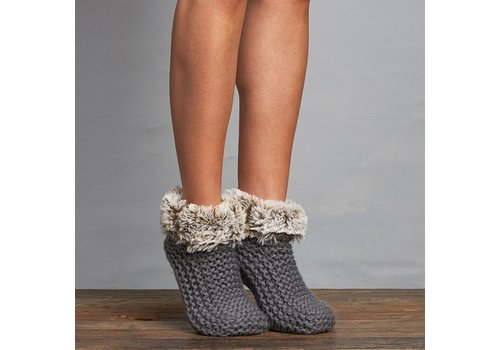 Lemon Loungewear Winter Cabin Cute Boot Bootie