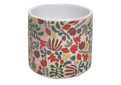 Border Concepts Whimsy Floral Cylinder