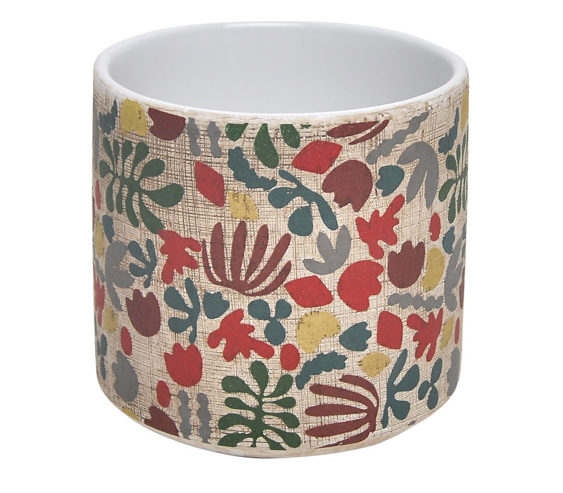 Whimsy Floral Cylinder