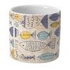 Border Concepts Sketchy Fish Cylinder