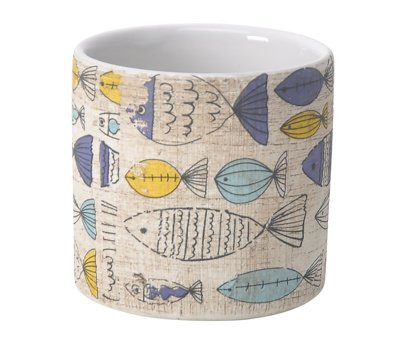 Sketchy Fish Cylinder