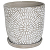 Border Concepts Corinne Planter With Saucer