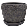 Border Concepts Sherborn Planter With Saucer