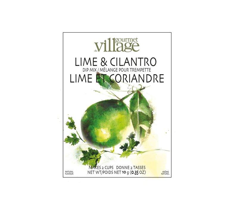 Dip Recipe Box Lime Cilantro