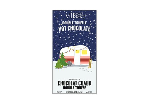 Gourmet Du Village Mini Hot Chocolate Retro Camper