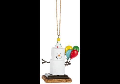 Ganz S'mores Happy Birthday Ornament
