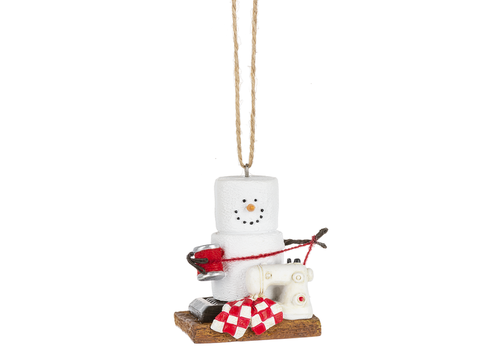 Ganz S'mores Crafting Ornament