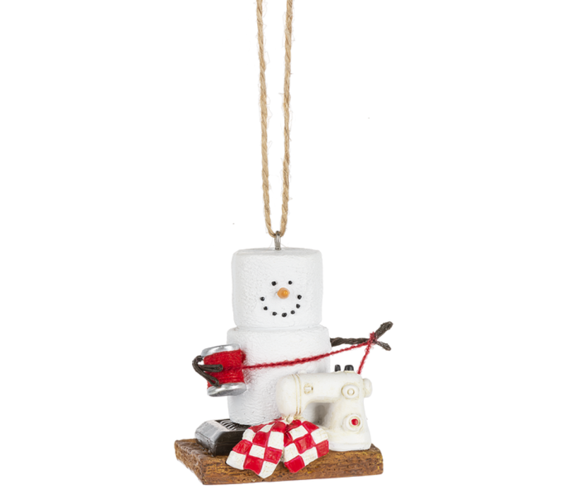 S'mores Crafting Ornament