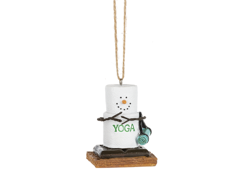Ganz S'mores Yoga Ornament