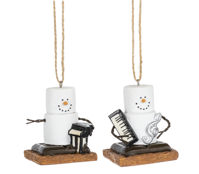 S'mores Keyboard Ornament