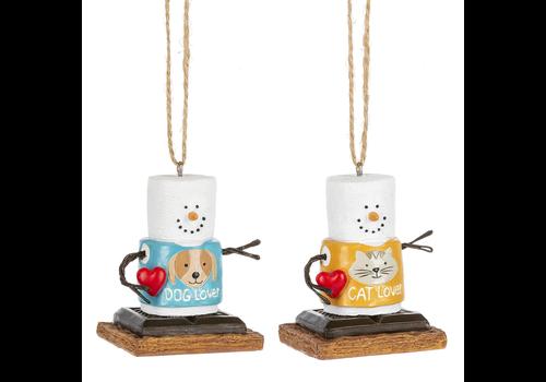 Ganz S'mores Pet Lover Ornament