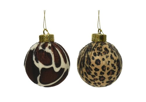 Kaemingk Animal Fabric Bauble