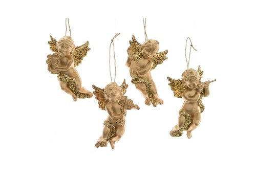 Angel With Hanger Gold