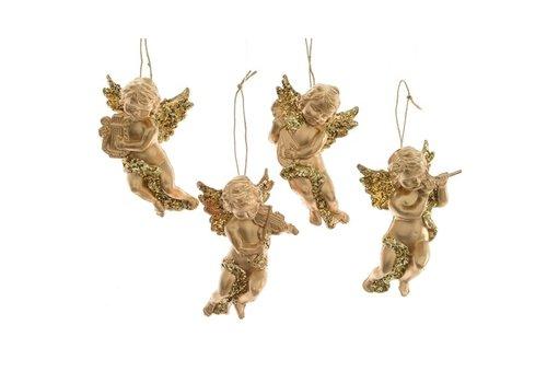 Kaemingk Angel With Hanger Gold