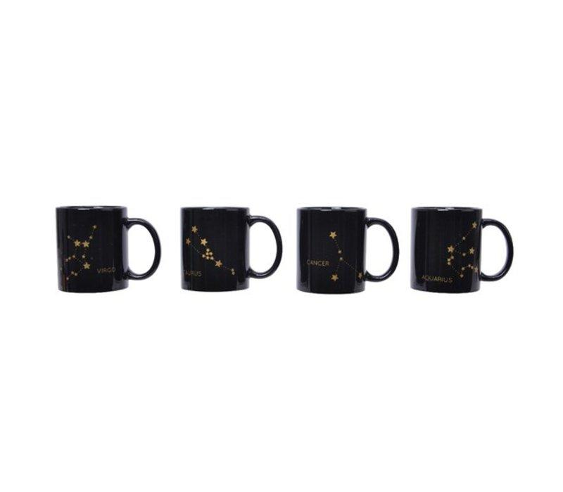Zodiac Sign Stoneware Mug