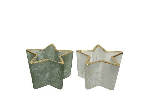 Kaemingk Star Frost Tealight