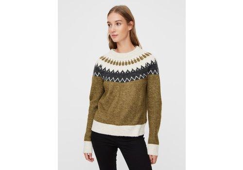 Vero Moda Simone LS O-Neck Nordic Blouse