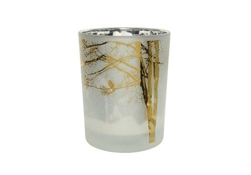 Kaemingk Tree Bird Tealight Winter White