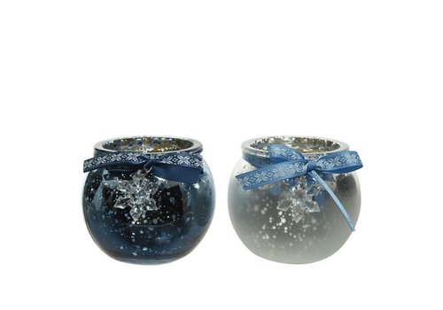 Kaemingk Tealight With Snowflake