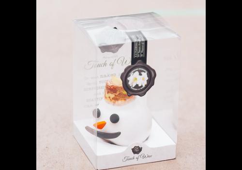 Character Wax Amaryllis Snowman