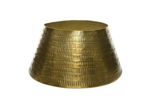 "Kaemingk Iron Tree Ring Gold 22""x11"""