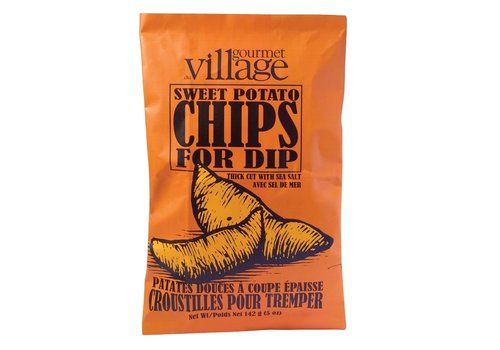 Gourmet Du Village Chips Thick Cut Sweet Potato