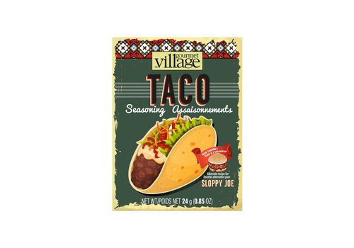 Gourmet Du Village Taco Seasoning