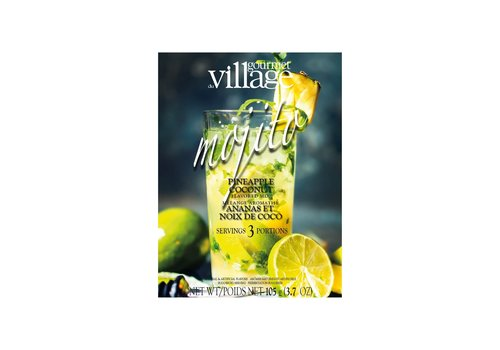 Gourmet Du Village Pineapple Coconut Mojito Box 105g