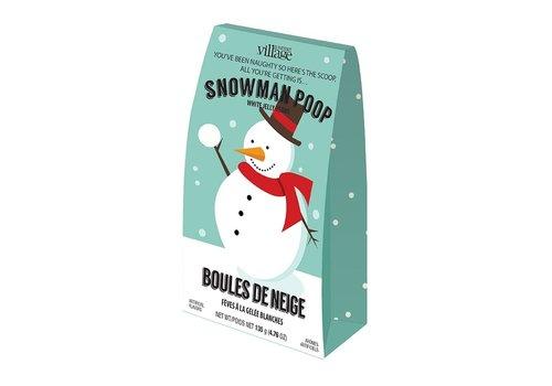 Gourmet Du Village Snowman Poop Jelly Bean Tote