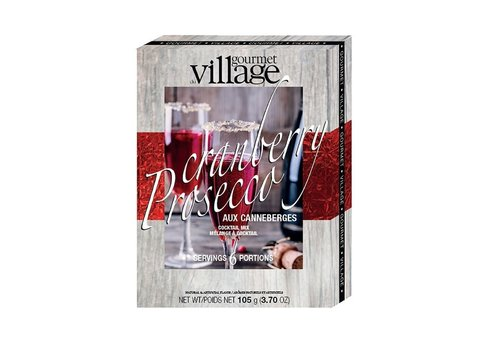 Gourmet Du Village Cranberry Prosecco Drink Mix